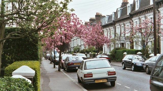 Пролет в Англия
