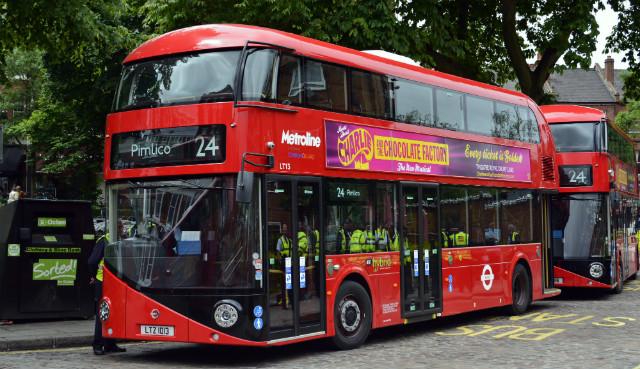 Лондонски автобус