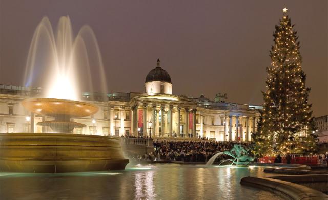 Коледната елха на Trafalgar Square