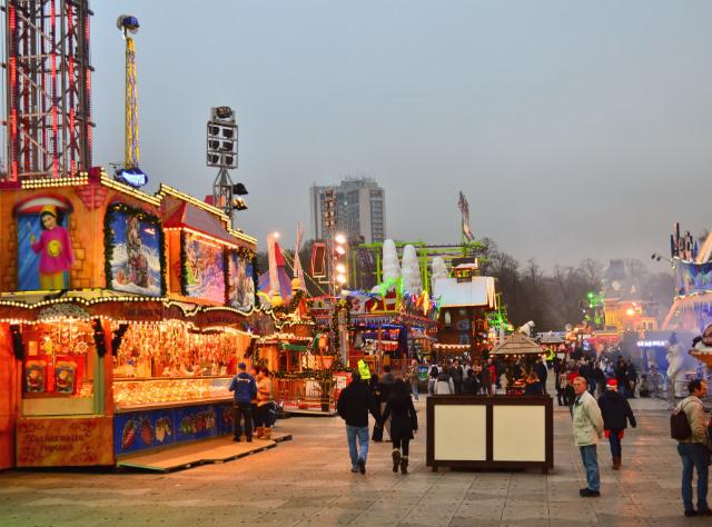 Зимен фестивал в Лондон