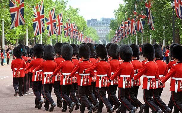 лондон парад
